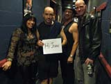 Queensryche, Deana Dee, and Tim DaCosta saying Hi!