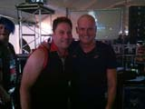 Me with Chicago Drummer Tris Imboden